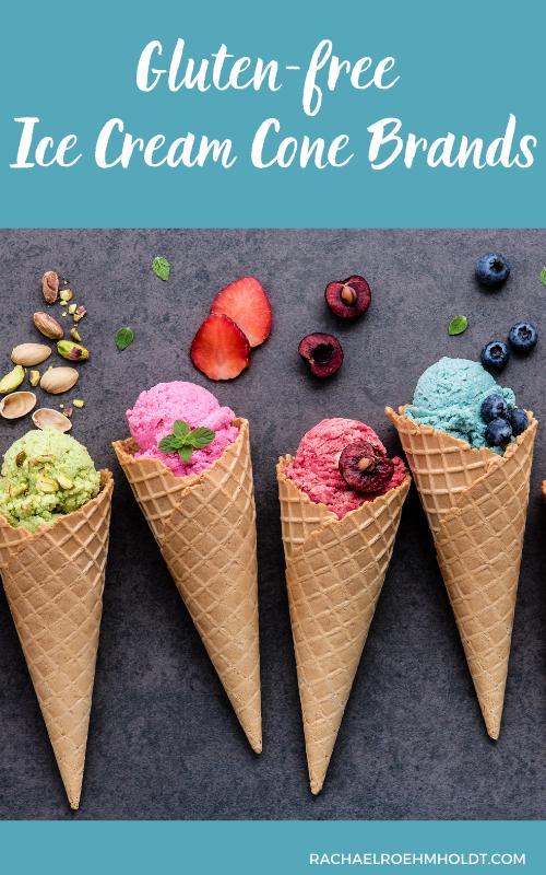 Gluten-free Ice Cream Cone Brands