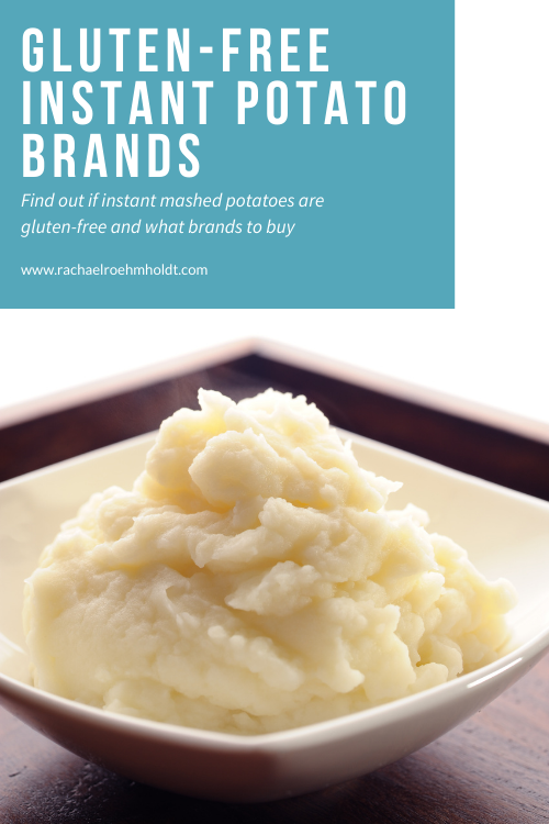 Gluten-free Instant Mashed Potatoes