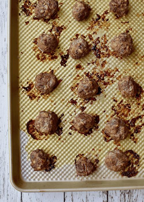 Gluten free Meatballs - dairy-free, egg-free option