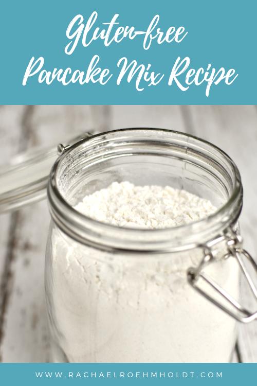 Gluten-free Pancake Mix Recipe