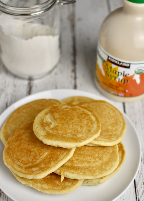 Gluten-free Pancakes: Enjoy with your favorite toppings