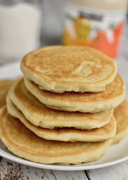 Gluten-free Pancakes (Dairy-free, Vegan Option)