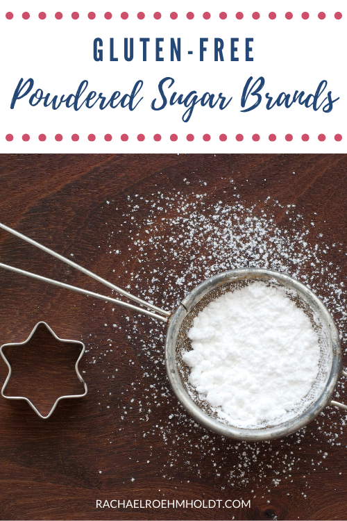 Gluten-free Powdered Sugar Brands