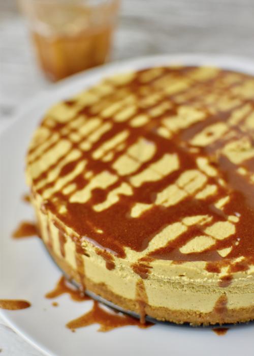 Gluten-free Pumpkin Cheesecake - dairy-free