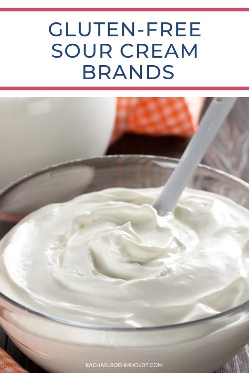 Gluten free Sour Cream Brands