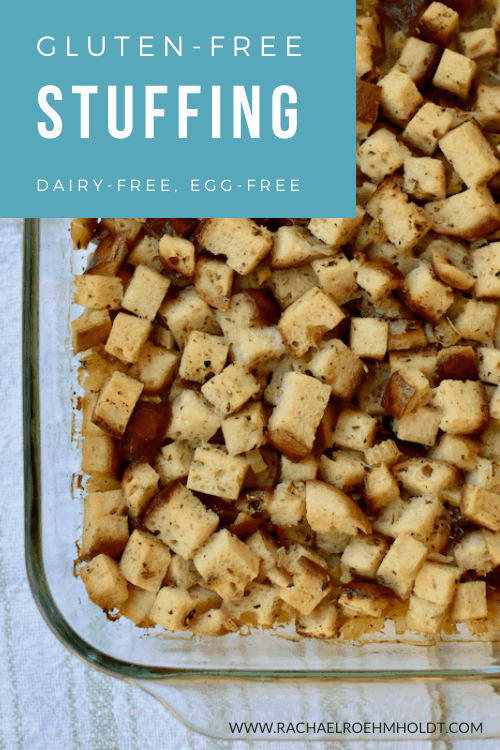 Gluten-free Stuffing - dairy-free, egg-free