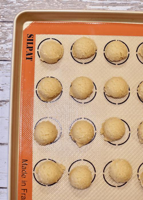 Gluten-free Sugar Cookies: roll the dough