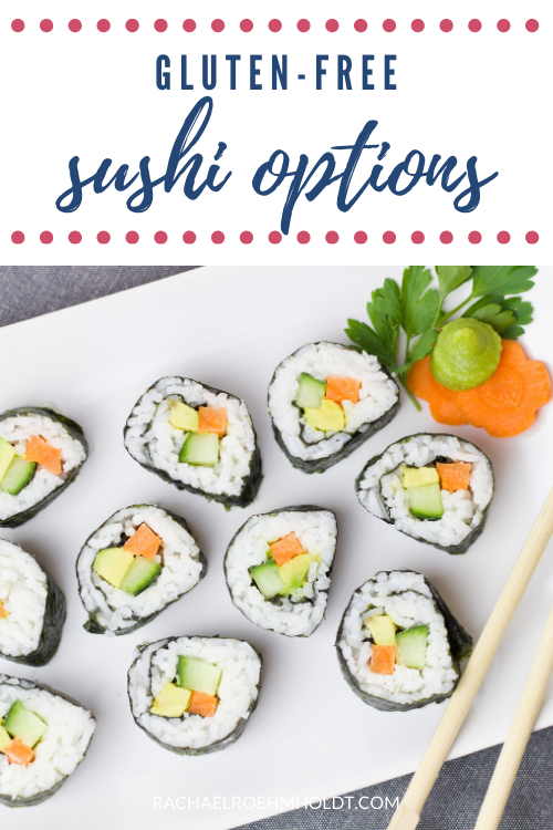 Gluten free Sushi Options