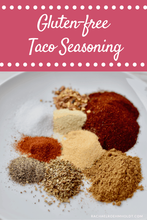 Gluten-free Taco Seasoning