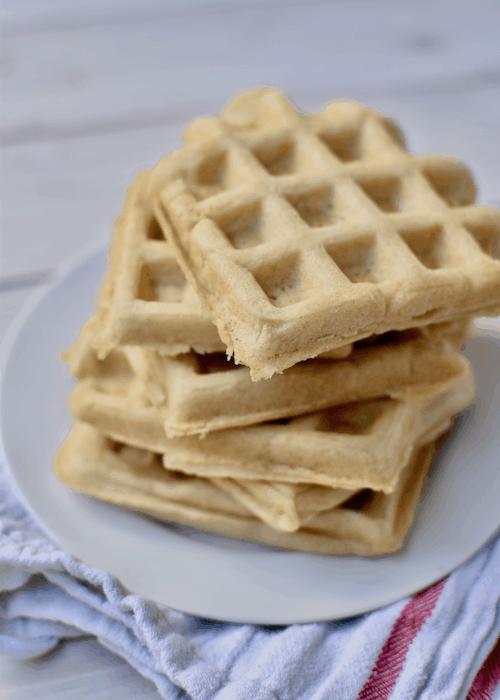 Gluten-free Waffles (Dairy-free, Vegan)