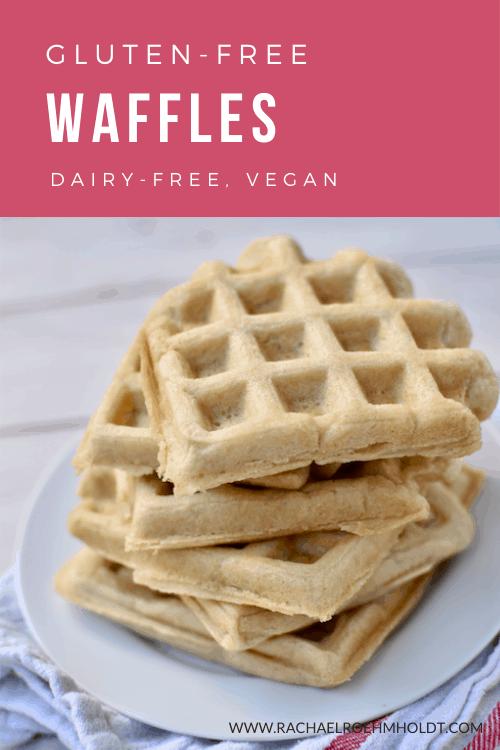Gluten-free Waffles (Dairy-free, Vegan Option)