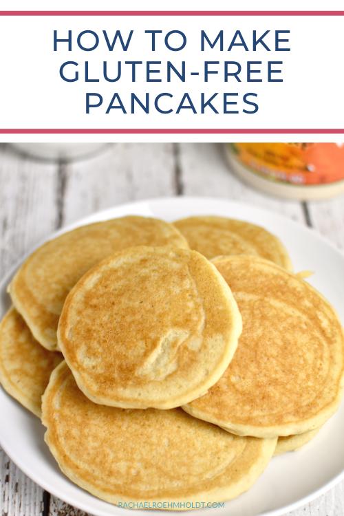 How To Make Gluten-free Pancakes
