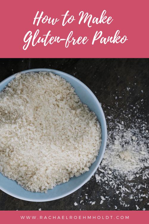 How to Make Gluten-free Panko