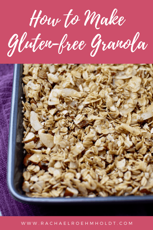 How to make gluten free granola