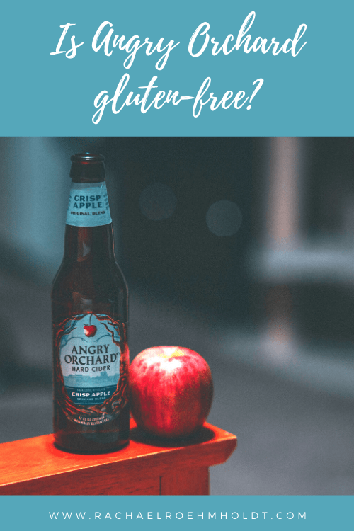 Is Angry Orchard gluten free?