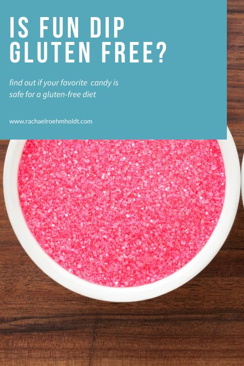Is Fun Dip Gluten free?