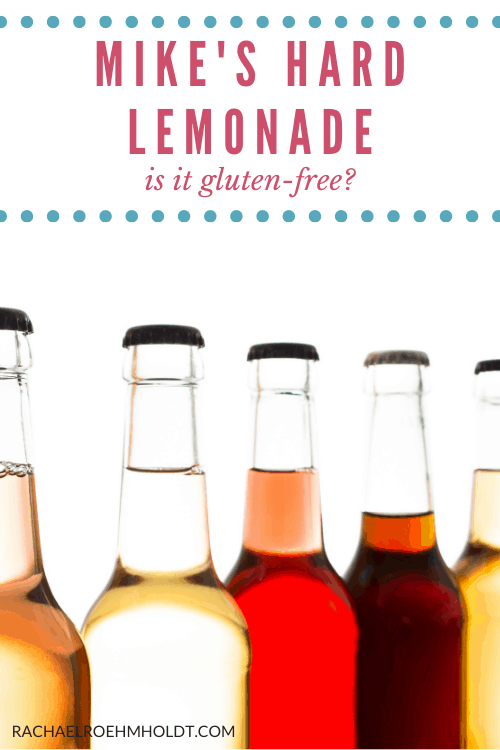 Mike's hard lemonade: is it gluten-free?