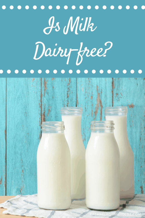 Is Milk Dairy-free