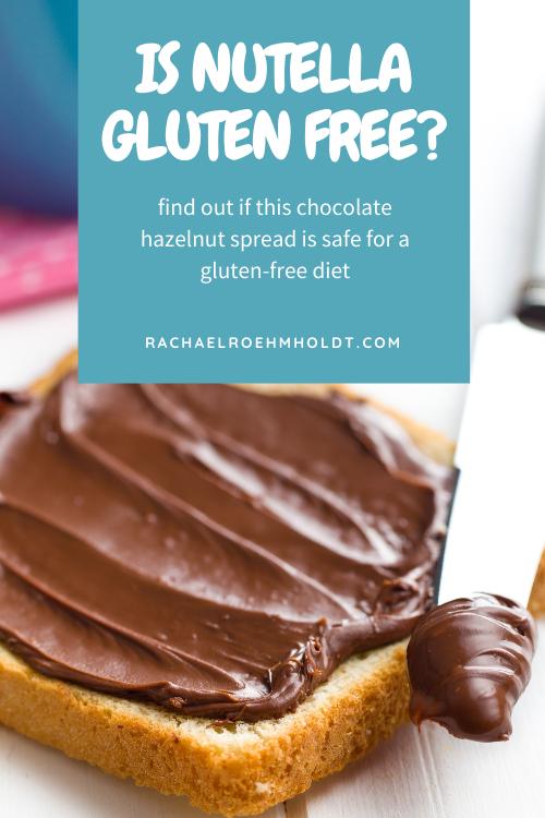 Is Nutella Gluten free?