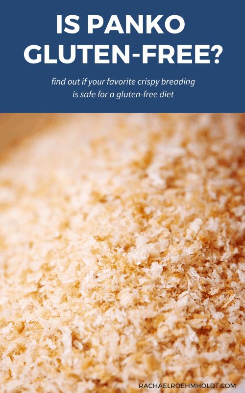 Are Panko Breadcrumbs Gluten free