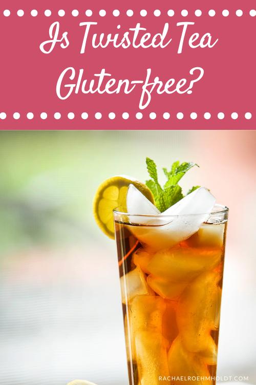 Is Twisted Tea Gluten-free