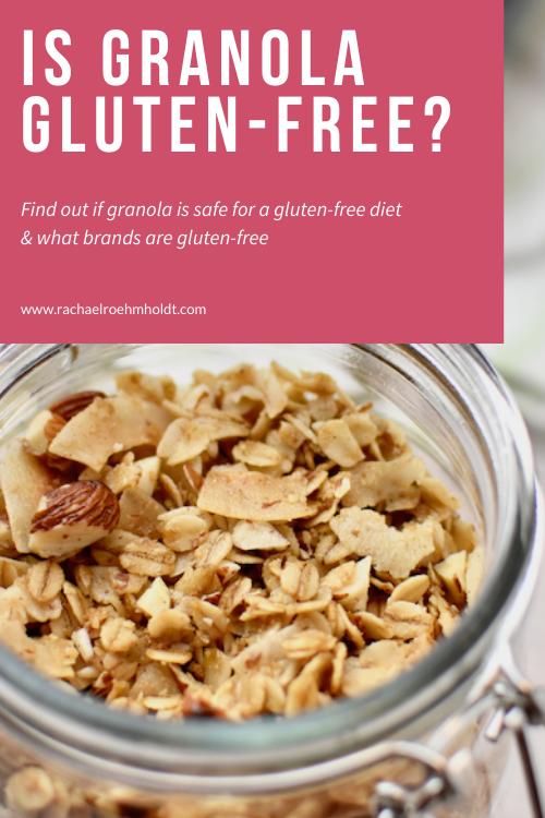 Is Granola Gluten free?
