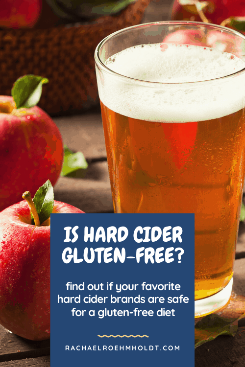 Is hard cider gluten free? Find out if cider is safe for a gluten free diet.