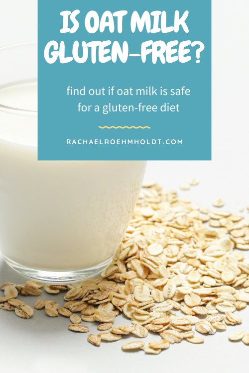 Is oat milk gluten free