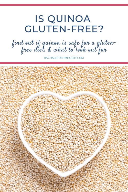 Is quinoa gluten-free