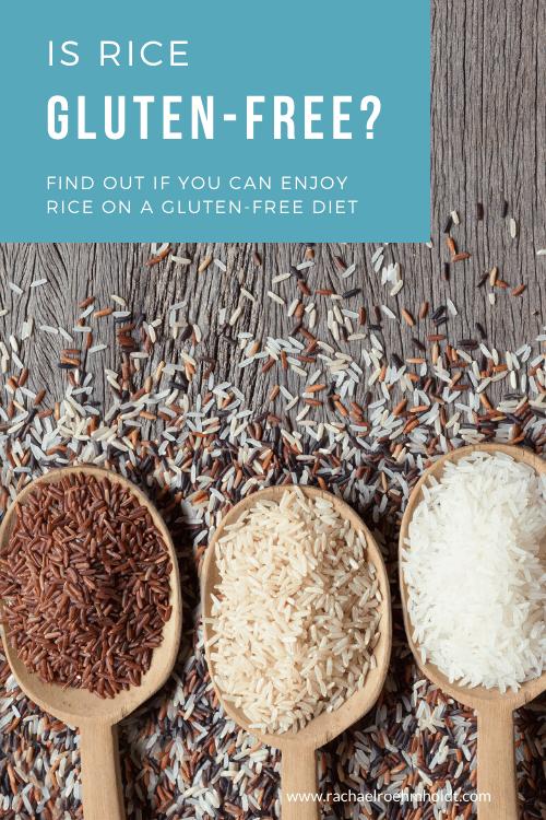 Is rice gluten free