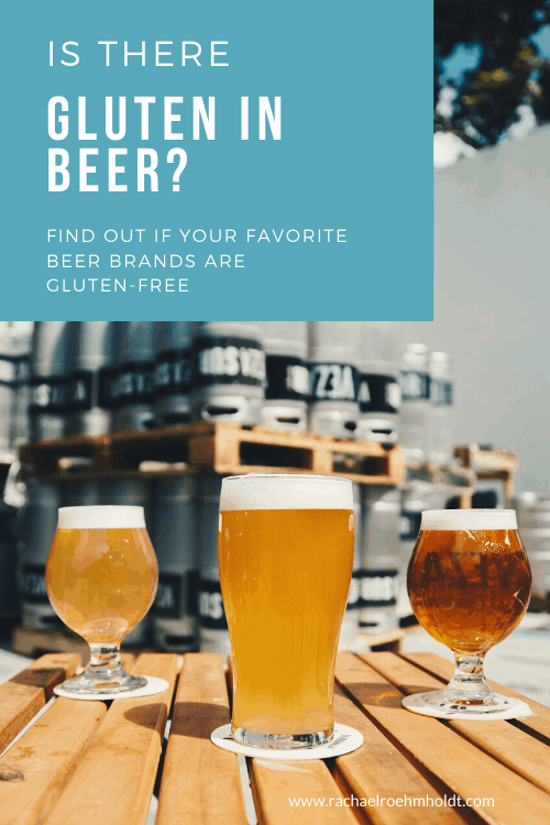 Is there gluten in beer?
