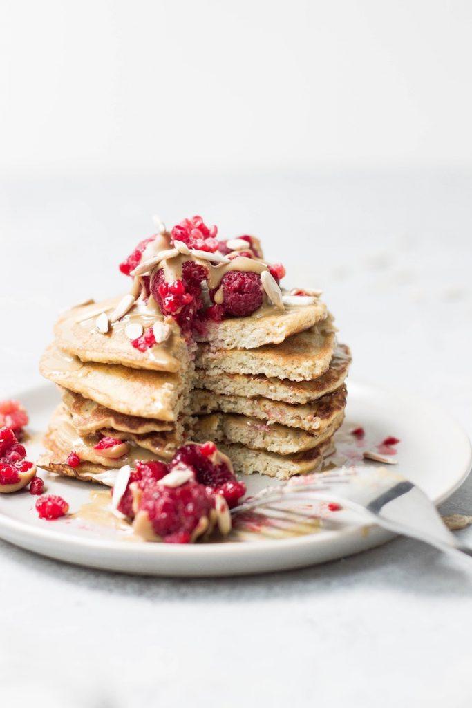 Gluten-free dairy-free breakfast idea: pancakes