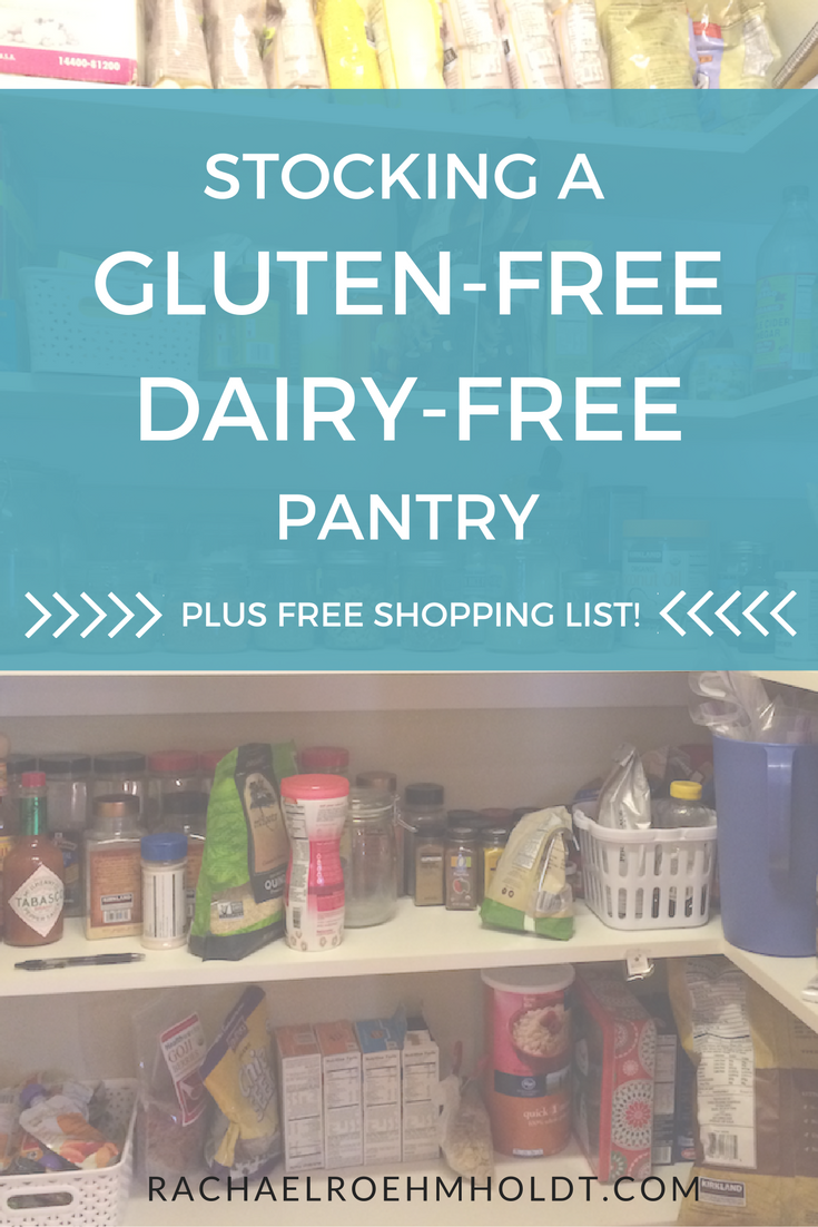 Making the switch to a gluten-free dairy-free life? Find out what to include in your gluten-free dairy-free pantry with this simple pantry checklist.