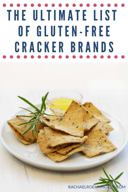The Ultimate List of Gluten-free Cracker Brands