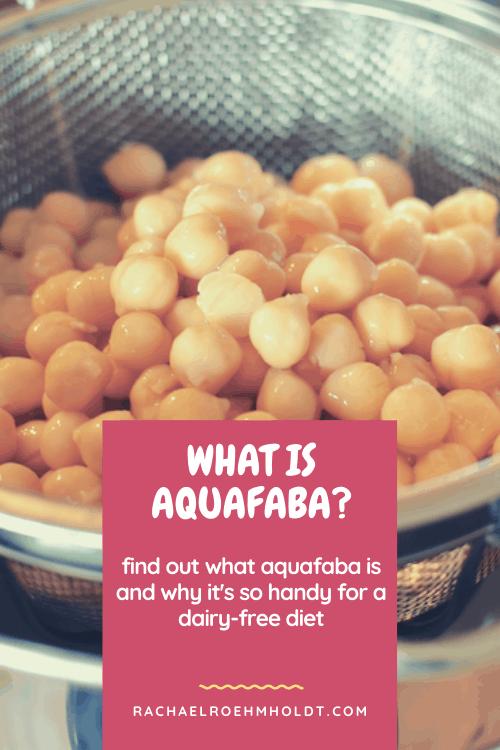 What is aquafaba?