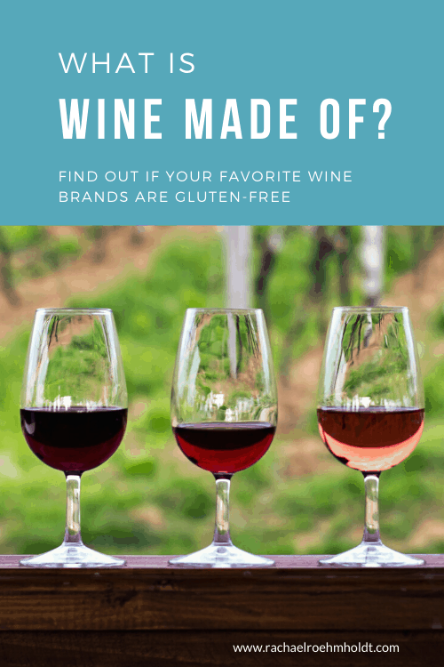 What is wine made of?