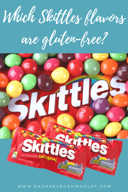 Which flavors of Skittles are gluten-free