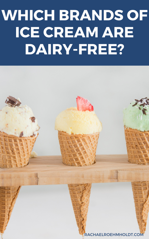 Which brands of ice cream are dairy free