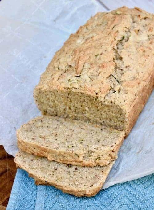 Dairy and Gluten-free Zucchini Bread Recipe