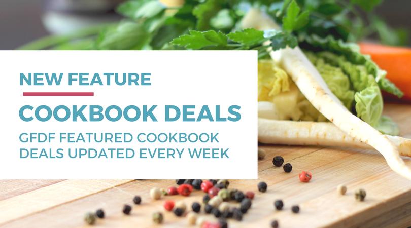 Gluten-free Dairy-free Weekly Cookbook Deals