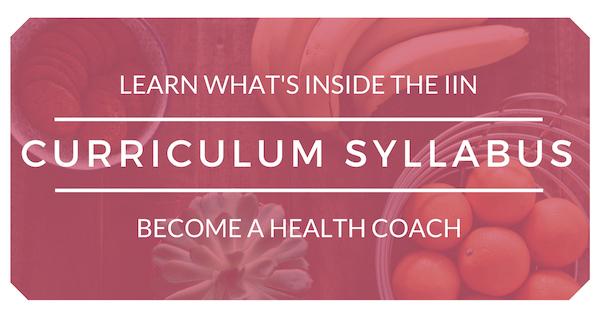 Holistic Health Coach IIN Curriculum Syllabus