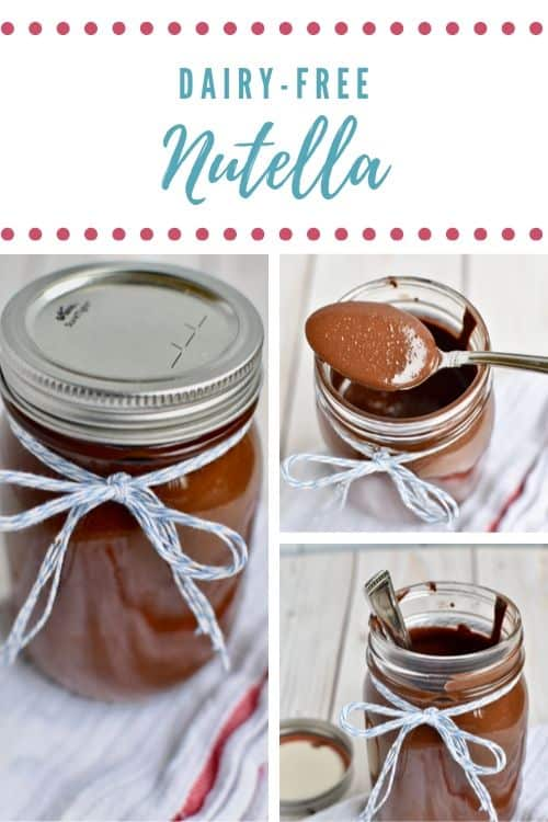 Dairy-free Nutella