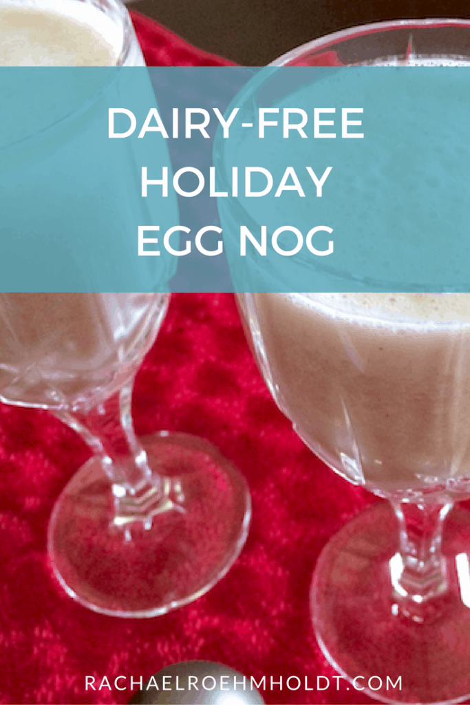 Dairy-free Holiday Egg Nog