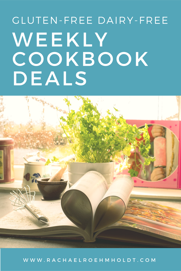 Need recipe inspiration for you gluten-free dairy-free diet and lifestyle? Check out the Gluten-free Dairy-free Cookbook Deals for weekly free digital cookbooks available through Amazon!