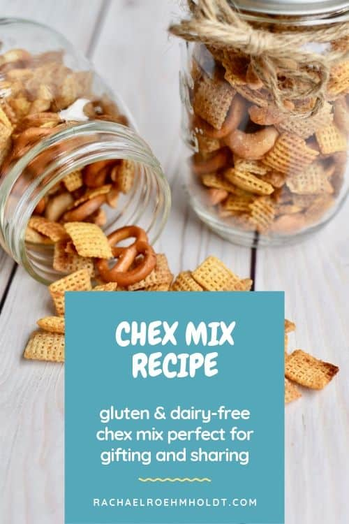 Chex Mix Recipe: gluten and dairy-free