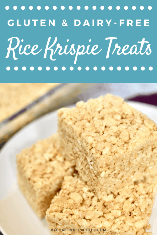 Gluten and Dairy-free Rice Krispie Treats