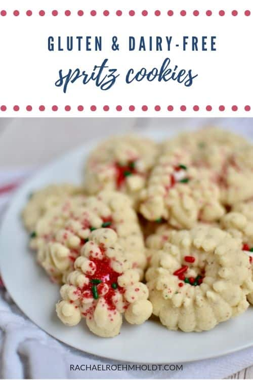 Gluten and Dairy-free Spritz Cookies