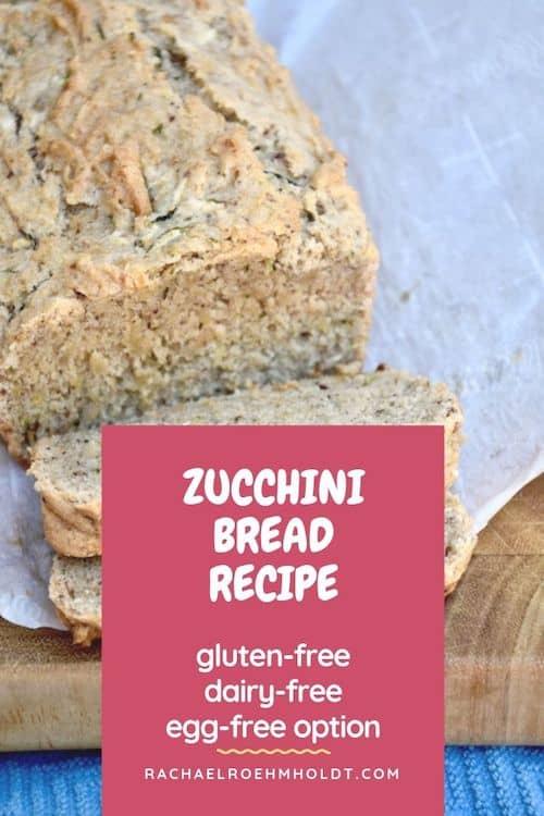 Gluten and Dairy-free Zucchini Recipe