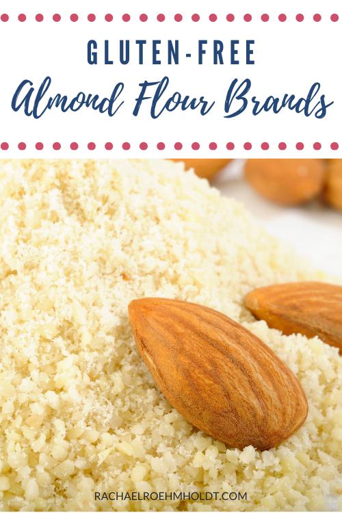 Gluten-free almond flour brands