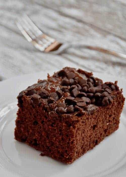 Dairy and Gluten-free Chocolate Zucchini Cake